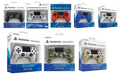 New Sony PlayStation DualShock 4 Wireless Controller (V2) Black/ Blue/ Green/Red