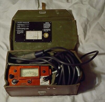 Very Rare Dp66Ms Dp66 Ms Training Geiger Counter Radiation Detector