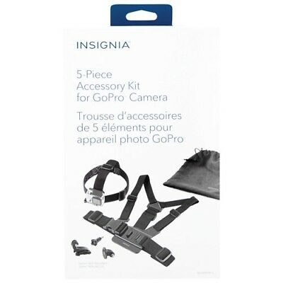 Insignia (NS-DGPK05-C) 5-Piece Accessory Kit for GoPro