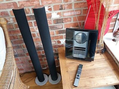 Bang and Oulfsen Beosound 3200 CD Radio and Beosound 6000 speakers and remote