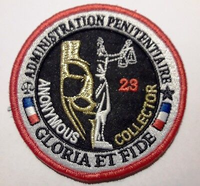 Insigne Ecusson Police Penitentiaire Prison Collector Correction Badge Patch