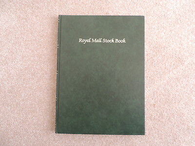 Royal Mail Stock Book With 8 Pages.