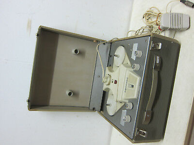 RETRO PHILIPS EL3527 Tape Tape recorder from 1959 (R568) with microphone