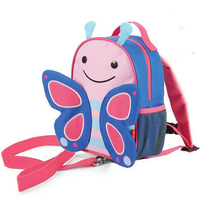 NEW Skip Hop Butterfly Zoolet Toddler Backpack with Reins Ages 12 months+