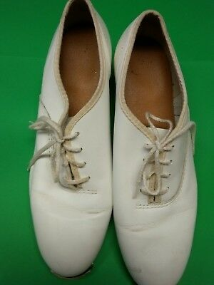 Womens White Clogging Shoes Size 712 With Taps