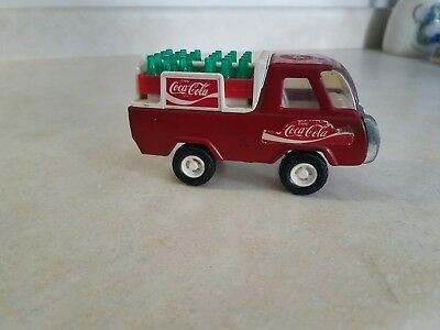 Vintage Buddy L Coca-Cola Delivery Truck In Great Shape