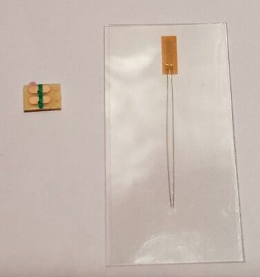 Wire Lead Strain Gauge 3.5mm, 120Ω -30°C +80°C