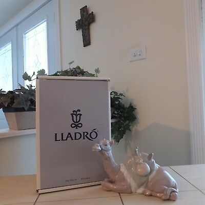 Lladro Nativity Camel #6944 New In Box Mint Sealed Lladro Documents Fast Ship!!!