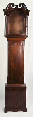 Scottish inlaid mahogany grandfather clock case only @ 1810 Good Proportion