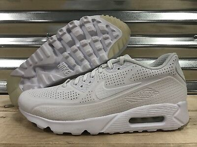 competitive price 4f92b 9dfbe Nike Air Max 90 Ultra Moire Running Shoes Triple White SZ ( 819477-111 )
