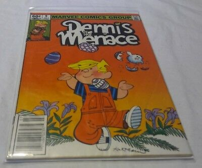 Dennis the Menace #9, in good condition