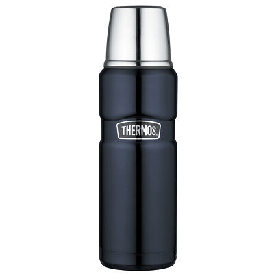 Thermos Stainless King Vacuum Insulated  Bottle - 16 oz. - Midnight Blue