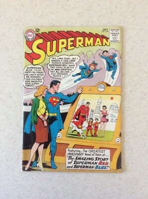 Superman # 162 Fine+ 3rd. App General Zod. Beautiful Issue