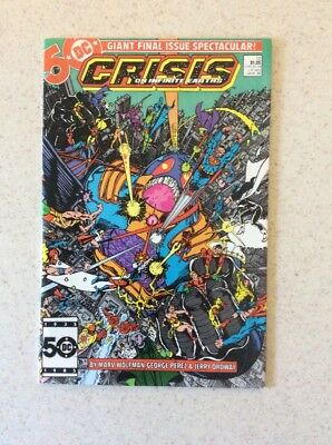 Crisis On Infinite Earths # 12 D: Robin, Anti Monitor, Dove, Clayface, Green Arr
