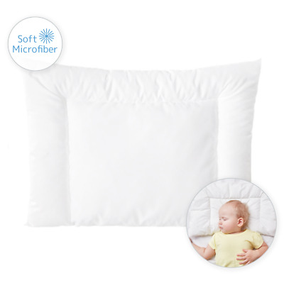 Anti-Allergy Cot Pillow Filling Quilt 60 / 40 cm for Nursery Baby Junior Toddler
