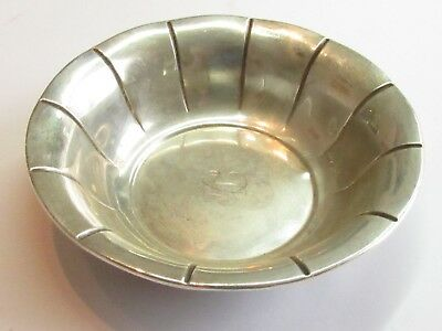 ANTIQUE RARE HANDCRAFTED Sterling Silver PSCO Company BOWL 58 GRAMS ANT#156
