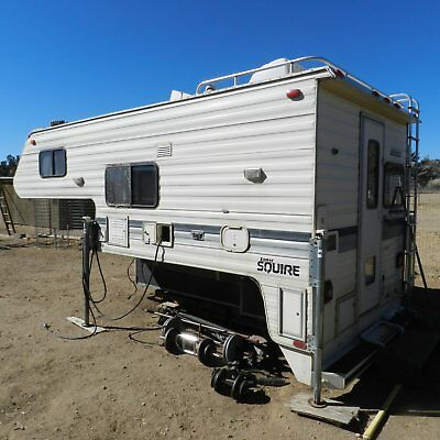 1993 Lance Squire Cab over camper