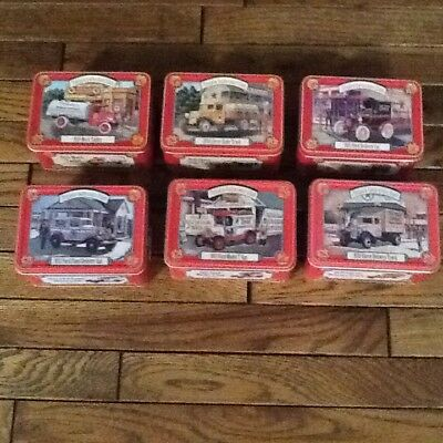 Texaco Collectors Club Lot of 6. NIB includes tin and boxes.