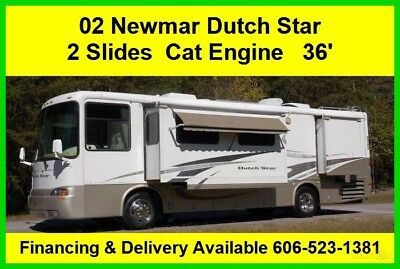 2002 Newmar Dutch Star Used Diesel Pusher Motor Home Coach Cat RV Motorhome MH