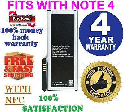 Replacement Battery Fits For Samsung Galaxy Note 4,3230mAh Verizon,T-Mobile,AT&T