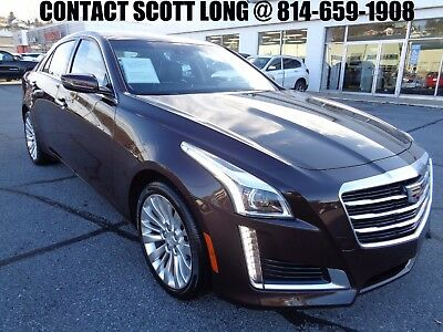 2016 Cadillac CTS 2016 CTS-4 AWD Luxury Like New 11K Miles 2016 Cadillac CTS4 AWD Luxury Collection Navigation Camera Leather Cocoa Bronze