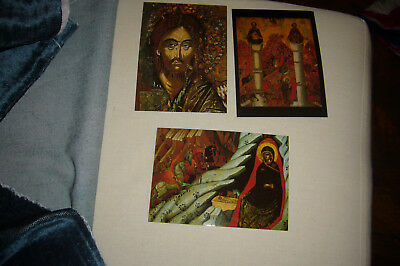 3 CARTES MELCHITES XVIIe SIECLE COLLECTION ABOU ADAL