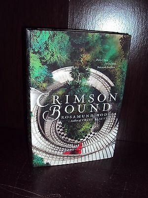 Crimson Bound by Rosamund Hodge Hardcover First Edition 1st/1st