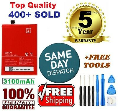 Brand New Battery For ONE PLUS ONE Plus 1+ A0001 US +Free Tools 3100mAh BLP571