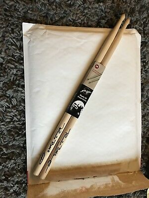 Pete Best Signed Drum Sticks