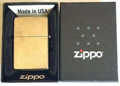 Zippo Street Chrome Windproof Cigarette Lighter Model 207 ~ New In The Box
