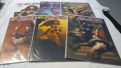 Red Sonja she-devil with a sword, issues 0-32, missing #22, lot of 32