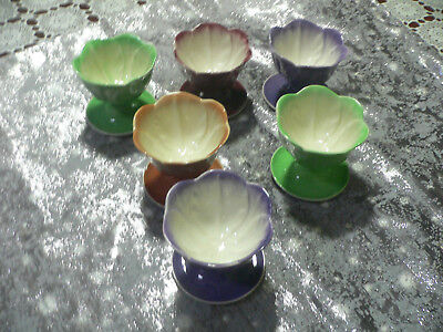A  Set Of Six Comports  Dishes By Wembley  Ware