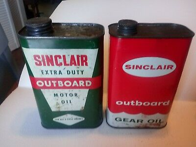 Sinclair Outboard Qt. Cans
