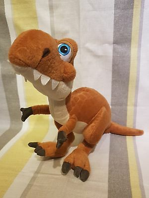 """T-Rex Dinosaur From Ice Age Dawn Of The Disnosaurs 14"""" Lg Soft Toy Plush Rare"""