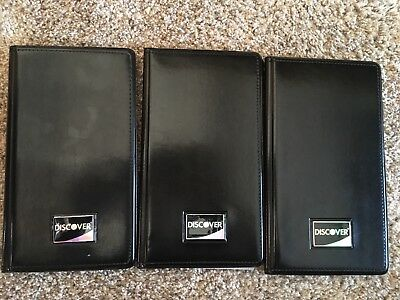 3 Check Presenters Holder Credit Card Holder Restaurant and Bar FREE SHIPPING