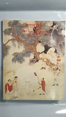 Sotheby's *fine Chinese Paintings* June 3Rd 1986 - Catalog