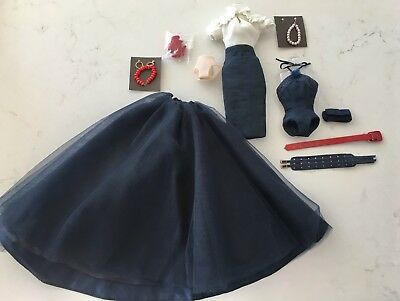 FR Integrity SOUND ADVICE Fashions!  MINT Navy Blue Skirts Bodysuits Access