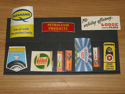 PETROL - vintage Advertising Toy Garage Posters (un-used/old shop stock)
