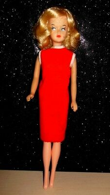 VINTAGE AMERICAN CHARACTER TRESSY DOLL BLOND hair that grows!ORIGINAL DRESS TOO