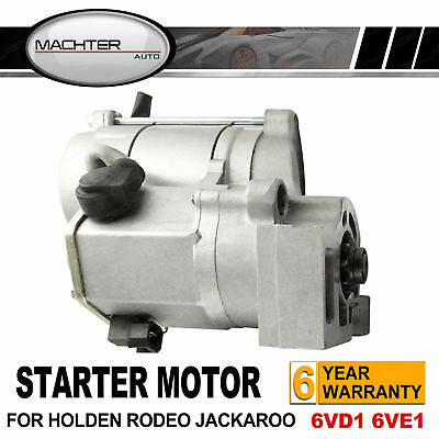 For Holden Jackaroo Rodeo RA TF Starter Motor V6 6VD1 6VE1 3.0L 3.2L 3.5L Petrol