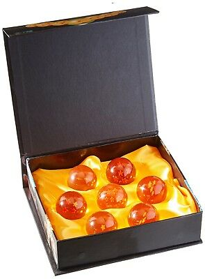 Brand New Dragon Ball Z Stars Crystal Glass Ball 7pcs with Gift Box