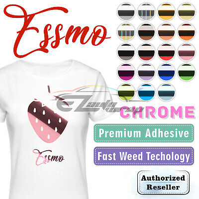"Chrome Heat Transfer Vinyl Laser HTV Sheets T-Shirt 20"" Wide Iron On Heat Press"