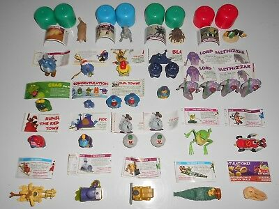 Huge lot of Yowies Adventures RARES and limited edition figures animals