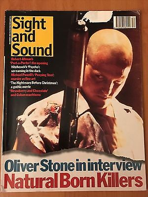 Natural Born Killers - Oliver stone interview Dec 1994 - Sight and Sound - Rare!