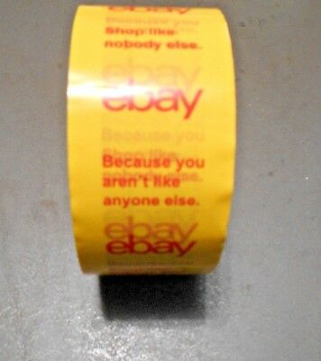 """""""NEW"""" Official eBay Branded Strong Packaging & Shipping Tape~ Comes in 4 Colors"""
