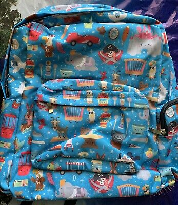 Disneyland Disney World Kingdom of Cute Backpack by Jerrod Maruyama New With Tag