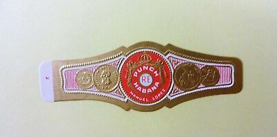 """For Sale: OLD COLLECTIBLE CIGAR BAND, """"PUNCH # 5"""", B105"""