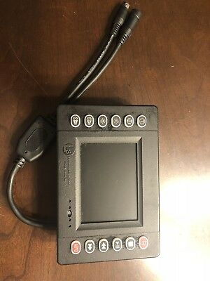 "L3 Communications Video System 3.5"" LCD Monitor Console Flashback Mobile Vision"