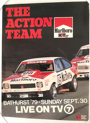 Peter Brock Marlboro Hdt 1979 The Action Team Torana A9X Official Poster