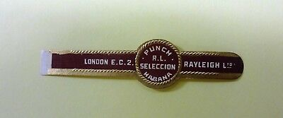"""For Sale: OLD COLLECTIBLE CIGAR BAND, """"PUNCH # 31"""", B131"""